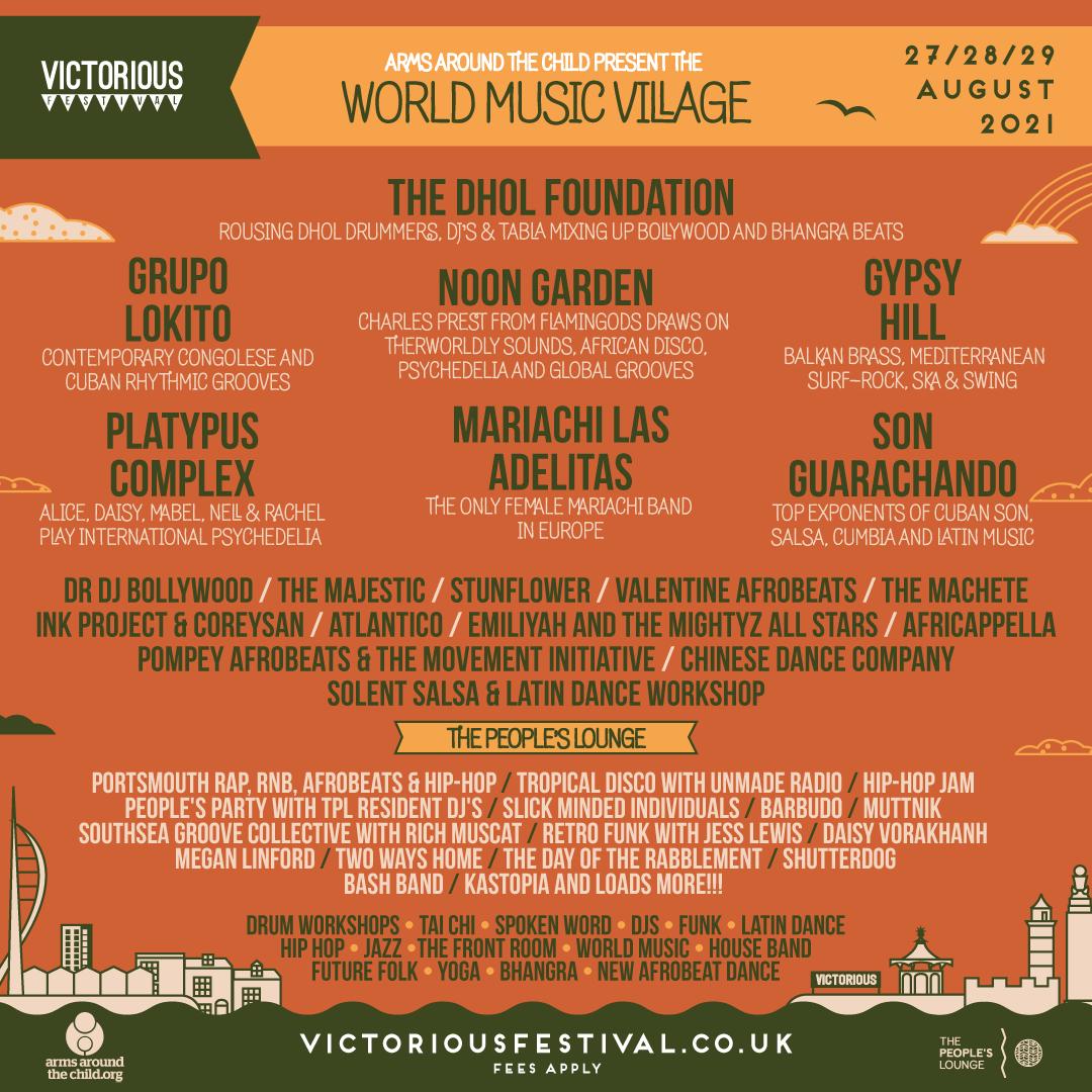 World Music Village Line Up